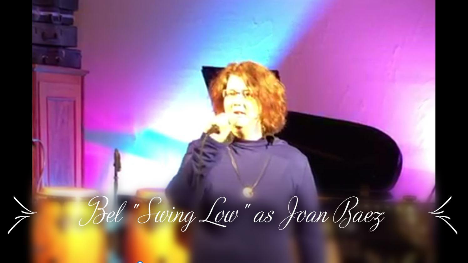 "Bel singt ""Swing Low, sweet Chriot"" wie damals Joan Baez"